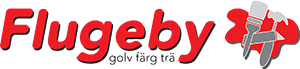 Flugeby Golv, Färg & Trä Logo